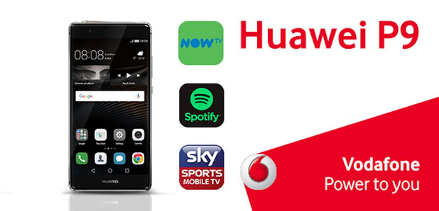 Huawei P9 Vodafone Trending Competition