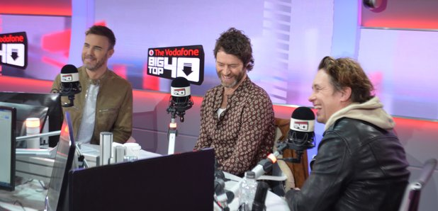 Take That Big Top 40 Studio