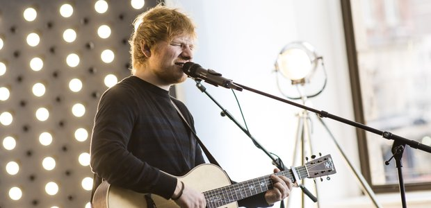 Ed Sheeran live at Global
